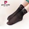 [Супермаркет] Jingdong Пирр Кардин носки дезодорирующие носки женщин корейской спандекс равнине сексуальные кружева шелковые носки три пары пленного черном платье Размер askomi носки шелковые askomi ag 1230 черный