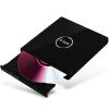 е Лей (е-elei) 8-ступенчатая черный USB 2.0 внешний привод внешний DVD-привод внешний привод компакт-дисков с мобильного (совместимый с Windows, Apple / EL-R3) внешний dvd привод lg bp50nb40 black