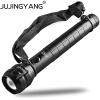 Яркий зум Алюминиевый сплав Ручной свет Перезаряжаемый тактический 5W LED T6 фонарик для полиции, охоты, кемпинга, наружного освещ ручной фонарик quaker 918 led