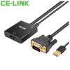 CE-LINK HDMI кабель конвертер VGA адаптер HD соединительная линия проектора кабель vga hdmi в нижнем новгороде