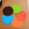 [Jingdong супермаркет] Выполнить Европа Tetsuya теплоизоляции 18CM кремнезема разноцветные круглого стола кухонного держатель горшок 5 шт
