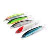 1шт Пластиковые рыболовные приманки Минноуна 5 цветов Искусственная приманка для приманки на лодке 7 см-2,76 '' / 9g-0.317OZ Рыболовные снасти Нержавеющие приманки