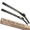 Wiper Blades for Hyundai Santa Fe 26&14 Fit Hook Arms 2013 2014 2015 2016 2017 wiper blades for hyundai i40 26