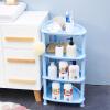 Длинные Шида (longstar) 4 кухни стойки для хранения стойки хранения полки подвижного пола слой Синего L-061