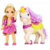 Дисней (Disney) девочки играть дома детские игрушки, куклы Барби куклы куклы костюм модель игрушки подарок на день рождения девочки Рапунцель и пони 79523 куклы реборн недорого в москве на ярмарке мастеров