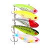 1pc Прикормы для рыбалки 6.5cm-2.6 /11.83g-0.42oz Лучшие рыболовные снасти 6 # Черный крюк 5 цветов Приманка для рыбалки