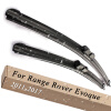 Wiper Blades for Land Rover Range Rover Evoque 23&21 Fit Push Button Arms 2011 2012 2013 2014 2015 2016 2017 for land rover lr4 discovery 4 trunk security shield cargo cover shade beige 2010 2011 2012 2013 2014 2015