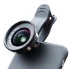 Chong Le (cherllo) 039H телефон Lens Wide / Macro / CPL черный костюм Apple, iphone проса Huawei Универсальный HD SLR камеры внешняя камера автоспуска 3 in 1 fish eye macro wide angle clip lens white black