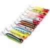 1PC Plastic Hard Popper Fishing Lures 10 цветов Приманки баса 11.68g-0.412oz Жесткие приманки 8.5cm-3.35 «Рыболовные снасти