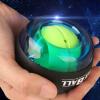 Круто Dog (Ku Гоу) Гироскоп Powerball предплечье силы хвата, сила запястье тренировка ДОМАШНЯЯ сцепление мяч синий (с подсветкой + счетчик)