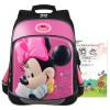 Дисней (Disney) сумка мальчик ребенок зрачки плечо мешок 4--6 классов Минни Маус рюкзак школьный розовый BM0383D disney disney школьной зрачки девушка 3 4 6 сортов отдыха и путешествия плеча сумка 0168 розовых детского рюкзак
