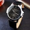 YAZOLE 2017 Мода Кварцевые часы Мужские часы Топ бренда Роскошные мужские часы Бизнес Мужские наручные часы