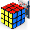 Shengshou Классические игрушки Cube3x3x3 ПВХ Стикеры блок головоломки Скорость Magic Cube Красочные Обучение shengshou 10x10x10 magic cube puzzle black and white and primary learning