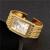 Женские золотые часы Лучшие знаменитые бренды Роскошные кварцевые наручные часы Женские платья Часы Женские часы