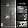 HIDEEP Настенный дождь смеситель для душа хром латунь ванной душ