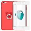 【Отправить стали】 ESCASE Apple iPhone6 / 6s Plus мобильный телефон оболочки все включено матовая анти-капли мягкой оболочки защитный чехол китайский красный смартфон телефон защитный чехол красный