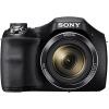 Sony (SONY) DSC-H400 телефото цифровая камера черный (2010 миллион эффективных пикселей 3-дюймовый ЖК-экран 63 раза оптический зум широкоугольный 25 мм) sony sony dsc rx100 m3 черная карта цифровая камера 2010 эффективный эквивалент пикселей 24 70 мм f1 8 2 8 объектив zeiss wifi nfc