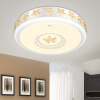 все цены на Супермаркет] [Jingdong ВС освещение потолочный светильник LED круговой главной спальне лампы освещения для гостиной зажигает теплые XD50051 / 1 24w три секции тонера 42 * 11см онлайн
