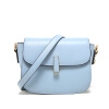 MICOCAH  Women  Bag  PU  Leather  Simple  Solid  Color  Rotate  Buckle  Shoulder  Messenger  Bag  CH50003 micocah women simple double color buckle buckle shoulder bag chain messenger bag gn40021