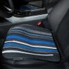 Животноводство Po (MUBO) маленький квадратный коврик автокресло дышащие монолитные передние подушки сиденья все сезоны связаны скольжения Free офис подушки сиденья 2 установлен DMSJ1608 черный
