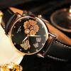2017 Золотые наручные часы Женские женские часы моды Известные роскошные бренды Женские наручные часы Часы Кварцевы�� часы Девушка