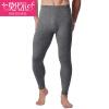 Модальные теплые брюки плюс мужчины и толстые бархатные брюки осенние и зимние мужские стрейч леггинсы