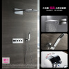 HIDEEP Настенный дождь смеситель для душа хром латунь ванной душ смеситель для ванной cron cn2201 хром