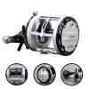12 + 1BB Спиннинг-фидер Carp Fishing Reels Cast Drum Wheel Carp Fly Fishing Reel fddl right hand fishing reels 12 1bb ball bearing 6 3 1 gear ratio metal water drop wheel bait casting reel