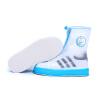 Потяните назад сапоги дождя для мужчин и женщин взрослый дождь водонепроницаемый нескользящий обивка обуви HXL228 черный M потяните назад сапоги дождя для мужчин и