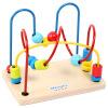 MING TA развивающие игрушки Бусы-кубики фруктов и животных Игрушки для раннего образования развивающие деревянные игрушки кубики сладости