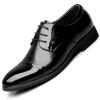 Botuleisi (Poitulas) обувь, мужская одежда формального бизнес прогулочная обувь Англии указала кружева свадебных туфель яркой кожи botuleisi  poitulas  мужская британской