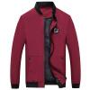 Куртки с куртками из джипа в поле битвы Мужские повседневные короткие топы Бейсбольные чемпионы Модные куртки Мужские тонкие мужские куртки 17121Z7004 Бюргерса 4XL