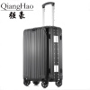 QiangHao 202429 inch 100% pure Aluminum Alloy pull rod suitcase TSA customs lock silent universal wheel hard metal luggage