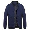Battlefield Jeep мужские случайные короткие рубашки куртки бейсбола куртки воротник мужской моды Тонкий Мужчины куртка 17121Z7002 синий L
