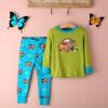 мальчики, девочка дети sleepwear nightwear 2pcs длинные рукава максимум + штаны Jurisdiction набор 2-8y куплю дом в хвойненском районе