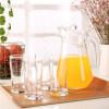 Jingdong [супермаркет] Le Meiya (Luminarc) Франция луки стакан холодного сока кувшин чайника горшок воды с чашками утконос Пять частей G6200