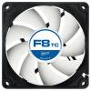 АРКТИК 8 см вентилятор (вентилятор охлаждения процессора компьютера шасси / 4-контактный ШИМ термостат /F8PWMrev.2)