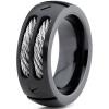 2017 новинка летнее модное мужское кольцо из нержавеющей стали уникальный дизайн в виде проводов и болтов для джентельменов размер кольцо мужское синьор кбс 5469