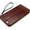 Keymao Magnetic  IPhone 6 6S Plus Wallet Case Leather Phone Bags Cases wallet leather magnetic case for iphone 7 plus triangles pattern