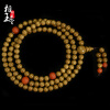 Фото Phase Yutang  Gold silk Nanmu hand string 108 South red braceletBuddha beads necklace male and female couple models