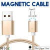 Keymao Magnetic Phone kabel data Type-C Micro USB Charger  Cable for iPhone 7 7 plus 6 6s Plus iPad Samsung S6 S7 S8 plus keymao magnetic cable fast charging usb cable for iphone ipad 1m nylon magnet charger kabel data
