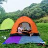 Happy Tour Outdoor Speed Open Toss Camping 3-4 Automatic Rain Sunscreen Camping Портативная палатка 200 * 200 * 125 Orange