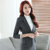 Elegant Business Formal Office Blaser Suits Wear Women Long Sleeve Feminine Blazer Clothing Ladies Vogue Top Plus Size S To 5XL