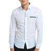 Brand 2017 Fashion Male Shirt Long-Sleeves Tops Simple Plaid Printing Shirt Mens Dress Shirts Slim Men Shirt XXXL stylish dress book simple smocks dresses and tops