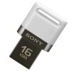 цена на Sony (SONY) микро 16GB USB 3.1 OTG мобильный телефон компьютер телефон двойной интерфейс U диск (микро-USB и USB двойной интерфейс) белый