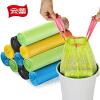 толстый мешки для мусора Юн Лей может быть кнопка-бумажной корзины автоматически закрываются переносные сумки 45 * 50 см * 120 6-пакет