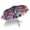 iRain Umbnella УФ солнечный зонт складной зонт три складной зонтик зонтик зонтик кристалл Фантазия джеймс джойс зонтик