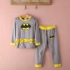 дети, малыши пижамы пижамы мальчик набор pjs костюм Бэтмена 2 компьютер 1 - 7 лет