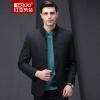 Мужская куртка Red Bean Hodo Мужская мода Женская мужская тонкая шерстяная куртка G5 Темно-зеленая 185 / 100A