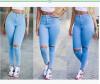 новый сексуальный женщин, джинсы - брюки высокие талии джинсы слим участок карандаш брюки как новый участок в симс 3